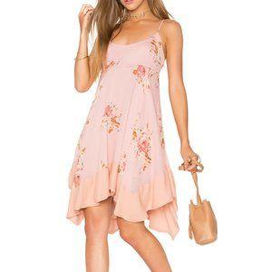 FREE PEOPLE Faded Bloom Slip Dress in Pink - S